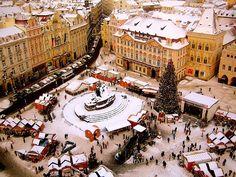 Old Town Square, Prague, Czech Republic