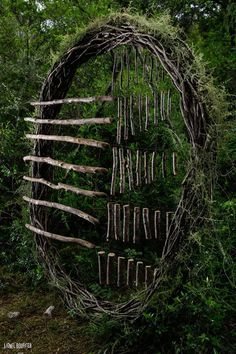 """Spencer Byles - Forest Sculptor"""" This project represents my experiences throughout a twelve month period exploring the back regions of three unmanaged local forests making on site sculptures. The..."""