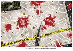 Michael Ramirez Cartoon - Operation Fast and Furious Victims
