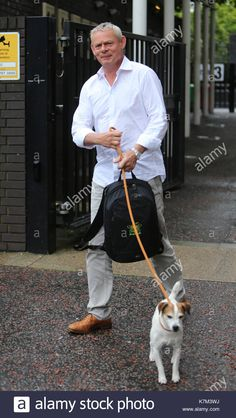 Martin Clunes, Doc Martins, Places, Dogs, Entertaining, Doggies, Dr Martens, Pet Dogs, Dog