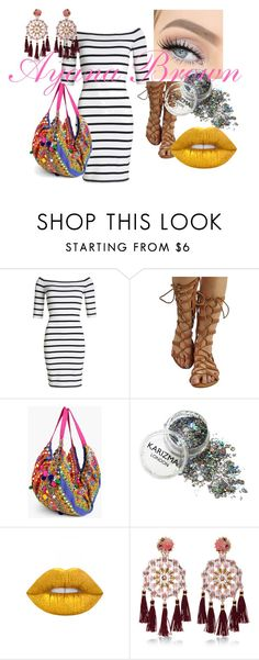"""""""RACE CAR"""" by ayanabrown on Polyvore featuring Superdry, Lime Crime and Mercedes Salazar"""
