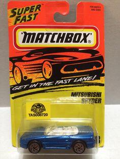 (TAS008720) - Matchbox Racing Car - Mitsubishi Spyder