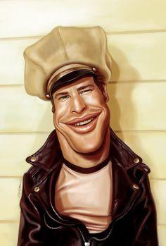 Portraint Caricatures by Marco Calcinaro   Cuded