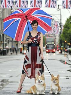 Union Jacks & Corgis