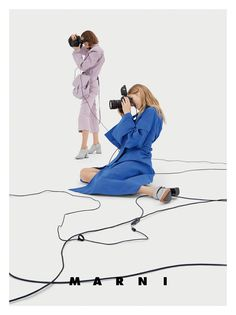 The Photographer Behind Marni's Mischievous S/S17 Campaign