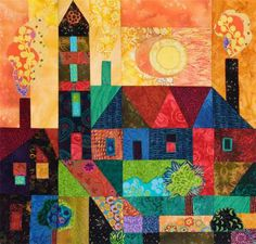 Town Quilt. This is a great site for studying color. Hue Bliss.