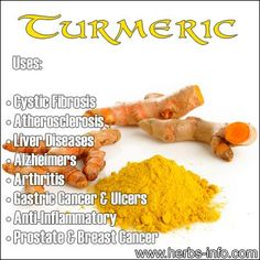 Turmeric: Considered by some to be the world's most beneficial spice for health!