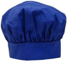 Blue Chef Hat
