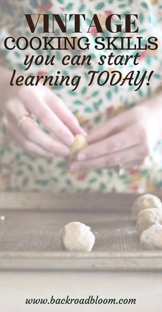 Click now to check out these 9 awesome vintage cooking skills that you can start learning today! Learn how to live more simply and embrace old fashioned homemaking with these valuable kitchen skills Cooking Tips, Cooking Recipes, Budget Recipes, Cooking Videos, Family Recipes, Healthy Cooking, How To Make Magic, Kitchen Queen, Planning Budget