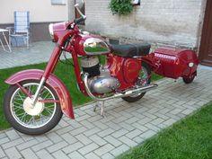 Jawa 350, Sidecar, Vespa, Java, Motorbikes, Motorcycles, Antique, Old Bikes, Transportation