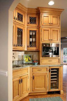 Modern Butler's pantry