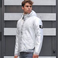 """Poly Composition jacket. With Fur inner Hood.  £495"""""""