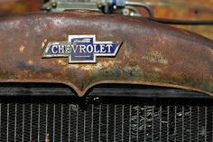 rusty ol' chevy...See the USA...