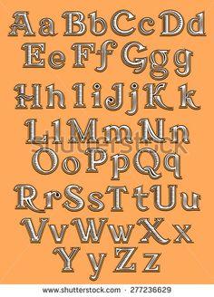 stock-vector-font-tattoo-engraving-woodcut-277236629.jpg 338×470 pixels