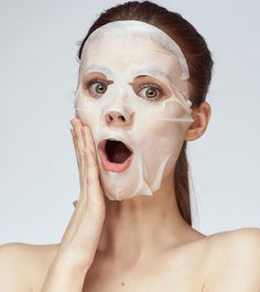 Koreans are among the biggest drivers of innovation in the beauty and skin care industry. Before you even get the chance to try out their latest beauty or skin care trend, they come up with another new one. Beauty Hacks Skincare, Beauty Tips For Skin, Natural Beauty Tips, Diy Beauty, Diy Sheet Mask, Fresh Aloe Vera, Beauty Recipe, Facial Masks, Skin Treatments