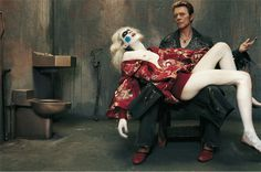 David Bowie protagonista delle copertine de L'Uomo Vogue
