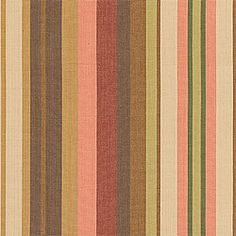 Metropolis Stripe #fabric in #brown from the Chelsea collection. #Thibaut