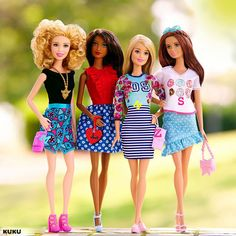Barbieis in lovewith KUKU #ilovekuku  www.ilovekuku.com