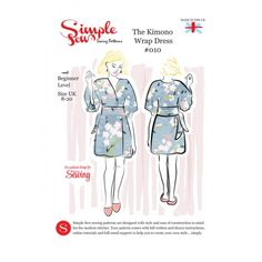 Free Kimono dress pattern with Love Sewing issue 12
