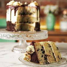 No intentes disimular que estás enamorado de esta explosiva Torta en Capas Homemade Vanilla Cake, Vanilla Cake Mixes, Cake Mix Recipes, Cookie Recipes, Dessert Recipes, Pecan Cake, Fall Cakes, Holiday Cakes, Savoury Cake