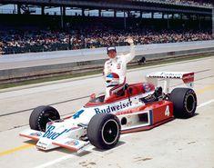 1979 Johnny RutherfordBudweiser   (Bruce McLaren)McLaren / Cosworth