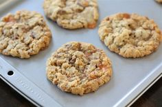 Crispy Butterfinger Cookies Recipe on twopeasandtheirpod.com Love these crispy cookies!