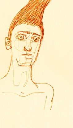 Stunned. Drawing by Consti*