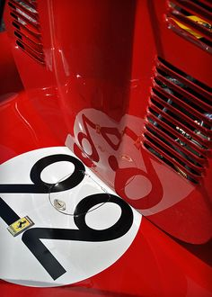 1962 Ferrari 250 GTO No.22 (Detail) - 2011 Goodwood Revival
