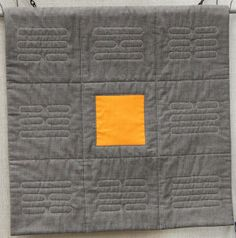 """The quilting on this """"Pa Kua"""" quilt is simply fabulous! Made and quilted by Donna Morales-Oemig."""