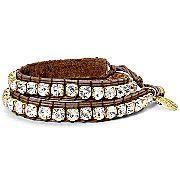 MNG by Mango® Rhinestone Wrap Bracelet Sale $14.97 jcpenney