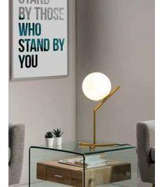 Comprar online Lámpara de Sobremesa Retro modelo ELIANA Stand By You, Led, Lighting, Home Decor, Templates, Dessert, Round Balloons, Standing Lamps, Home Decorations