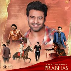 """Read more about Prabhas' look in 'Saaho' revealed on his birthday on Business Standard. """"Baahubali"""" star Prabhas, who turned 38 on Monday, gave his fans a gift -- the first look poster of multi-lingual action film """"Saaho"""". Advance Happy Birthday, Happy Birthday Photos, Prabhas Pics, Hd Photos, Darling Movie, Bahubali Movie, Prabhas Actor, Actors Birthday, Happy Brithday"""
