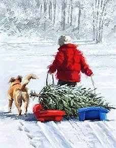 Pulling the Tree ~ Richard Macneil