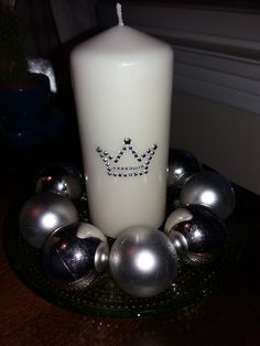 decorate candle