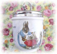 Vintage Wedgwood Peter Rabbit Egg Coddler Rare by CharlotteStyle, $36.00
