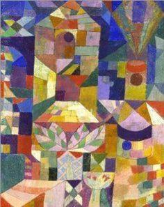 Paul Klee - Burggarten, 1919