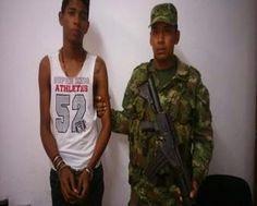 Adulto y un menor de edad, capturados en Riohacha por soldados de la Décima Brigada Blindada