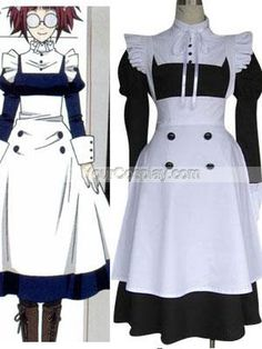 Black Butler Maylene Cosplay Costume, Black Butler Cosplay, Cosplay Costumes