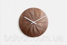 Деревянные настенные часы, Киев. by B'Clock. Bclock.com.ua