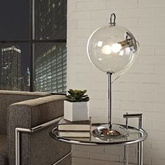 Modway 'Cheer' Transparent Glass Shade Modern Table Lamp - Overstock™ Shopping - Great Deals on Modway Table Lamps