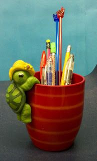 Fern Smith's Repurposing To Make A New Pen Holder!