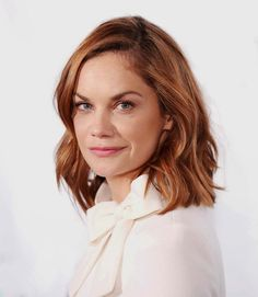 Ruth Wilson in Goat Ruth Wilson, Woman Movie, Strawberry Blonde, Long Bob, Celebrity Feet, Woman Crush, Beautiful Actresses, Cute Hairstyles, Dyed Hair