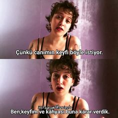Keyfim ve kahyasına karışmayın kdjdkdndms Peaky Blinders Series, Hue, My Life My Rules, Good Sentences, Crazy Girls, Weird World, Stupid Memes, Insta Story, Funny Moments