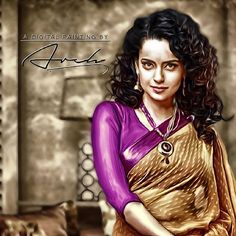 A Digital Painting By Arch @arunchatlani  Digital Painting For #KanganaRanaut #Art #Artist #DigitalArt #Painting #Like #Amazing #Awesome #Follow #FollowMe #PhotoOfTheDay #ArtOfTheDay #InstaLike #InstaDaily #InstaGood #InstaFollow #Instago