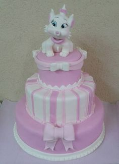 arista cats Birthday Cakes Aristocats Marie Birthday Cake Fun
