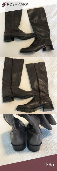Donald J. Pliner Bixbi Boot. Great condition. Donald J. Pliner Bixbi Boot. Great condition. Cocoa brown color with inside zipper.  Only worn a few times. Donald J. Pliner Shoes Heeled Boots
