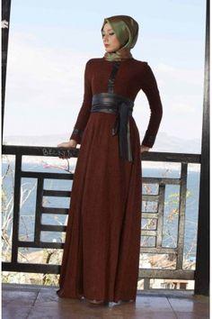 65ec746137f6f 8 en iyi Zarif Tesettür Modelleri görüntüsü, 2014 | Hijab Fashion ...