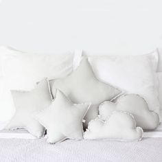 Star & cloud pillows ღ