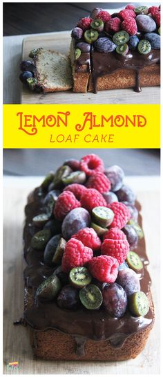 A lemony-flavored almond loaf cake is a wonderful way to start your morning! Sounds awesome isn't it? Perfect with tea or coffee.