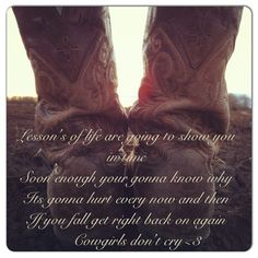 Cowgirls dont cry